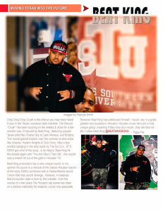 06Beat King Article w Heavy Rotation Magazine