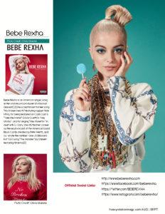 Bebe Rexha page