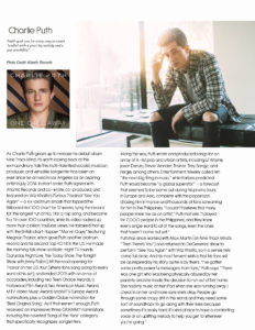 Charlie Puth Page