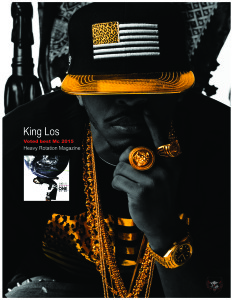 King Los Ad Heavy Rotation Magazine