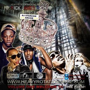 RICK JAMES RICH Web Copy Mixtape Hosted by DJ Starchie Archie HRM