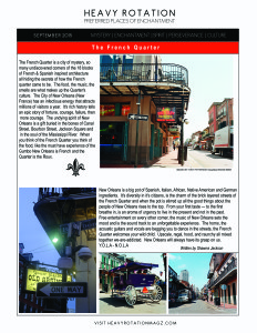 The French Quarter article